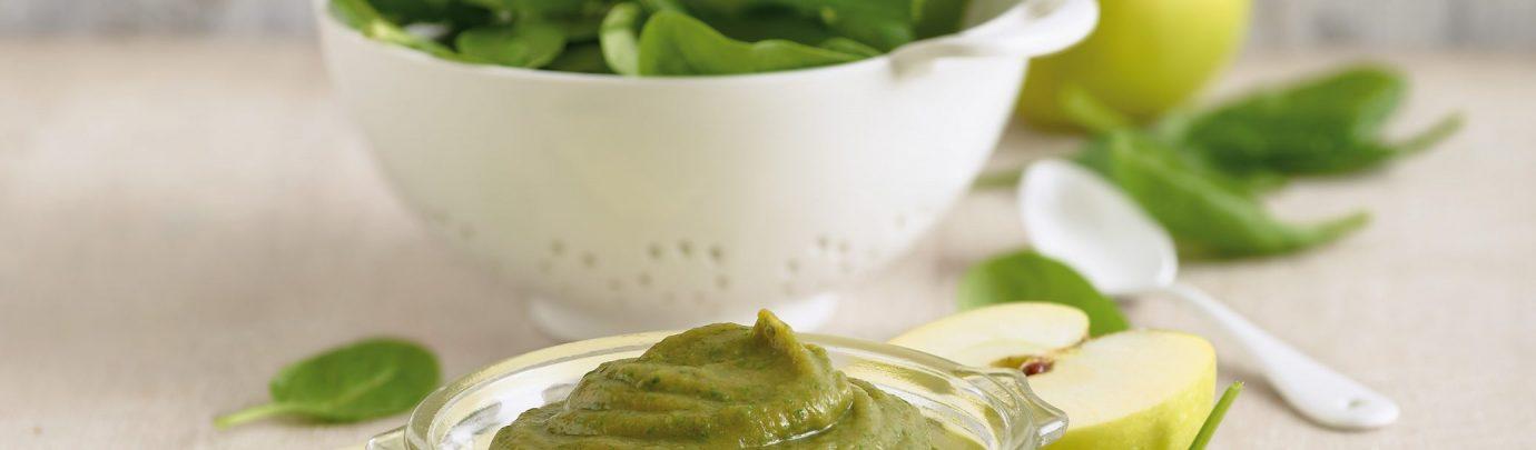 Parsnip, Spinach & Sweet Potato Puree
