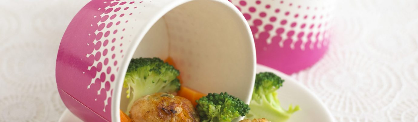 Chicken Balls With Apple & Carrot