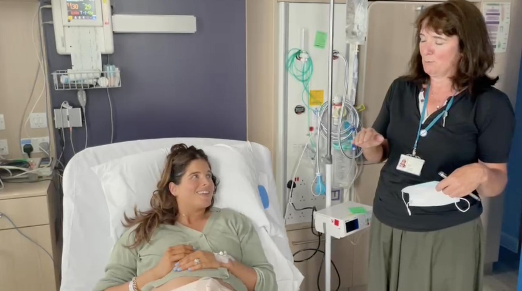 Binky Felstead on epidurals Video