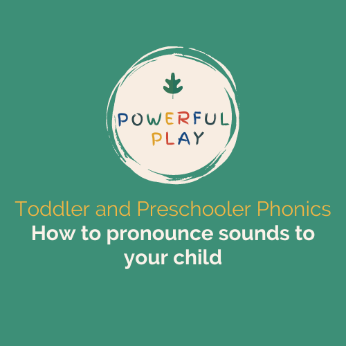 Early Years Phonics: How to pronounce sounds to your child Video