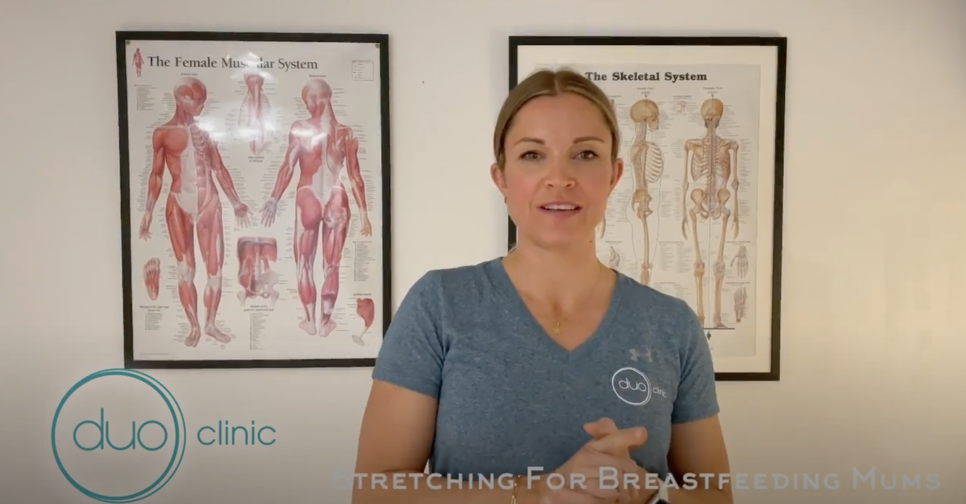 Stretches for Breastfeeding Mums – Osteopath Jodie Doyle Video