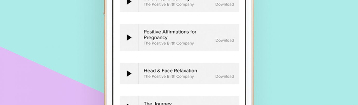 Hypnobirthing Relaxation MP3s